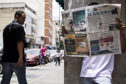 'El Nacional', uno de los principales periódicos de Venezuela, lanza su última edición en papel