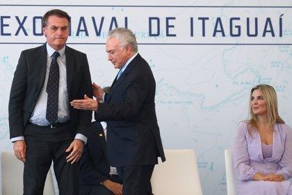 Temer se deshace en halagos hacia el futuro gobierno de Bolsonaro