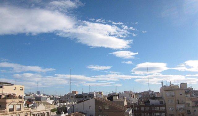 Cielo despejado en València