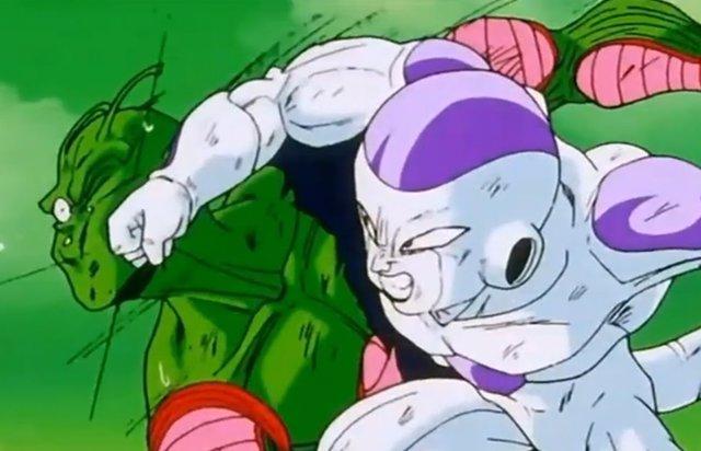 Piccolo y Freezer en Dragon Ball Z