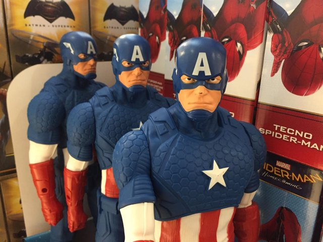 Juguetes, juguete, jugar, regalo, regalos, Reyes Magos, Capitán América
