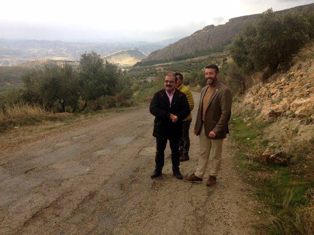 Diputación invetirá en la mejora de la carretera entre Huesa y Belerd