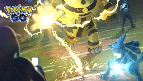 Combates de entrenador en Pokémon GO