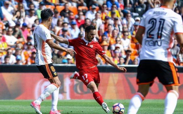 Sevilla, Betis y Villarreal buscan prolongar su euforia europea