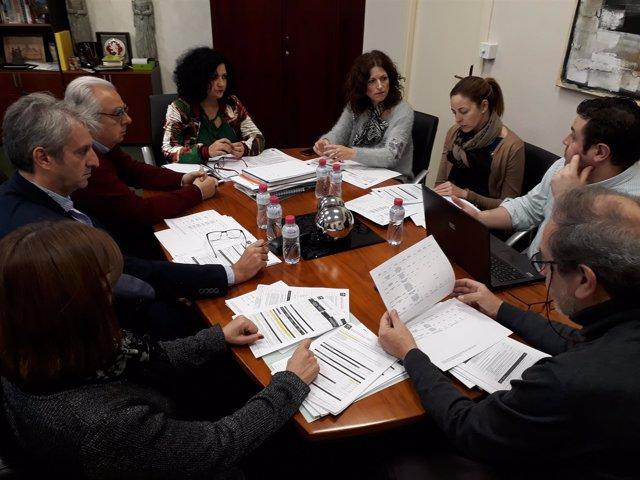Comisión de valoración de la agencia IDEA en Jaén