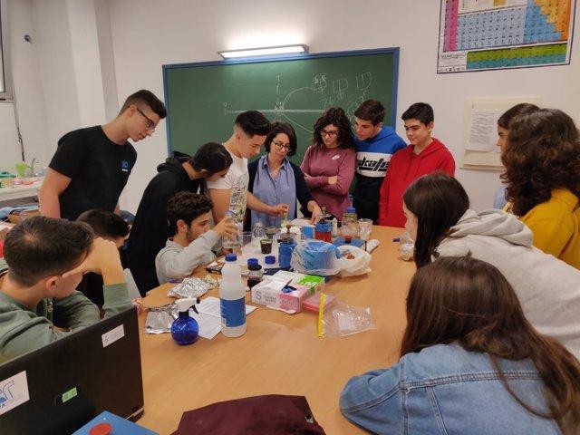 En el taller de Olula del Río, han participado unos 50 alumnos de Secundaria.