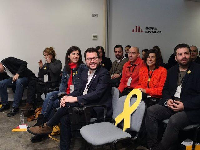 El número tres de ERC y vicepresidente de la Generalitat, Pere Aragonès