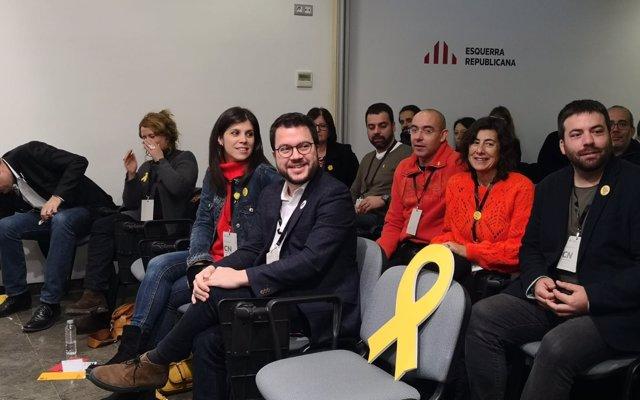 Aragonès (ERC) dice a Sánchez que no de 'lecciones de precariedad' y que hable de autodeterminación