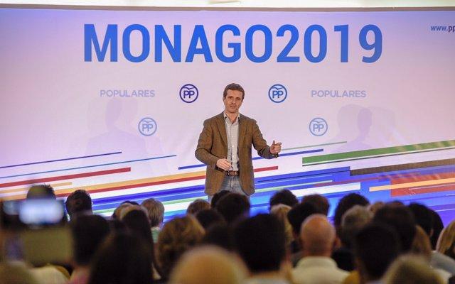 Pablo Casado pide al Gobierno que aplique la Ley de Partidos e 'ilegalice'  a los CDR y a Arran