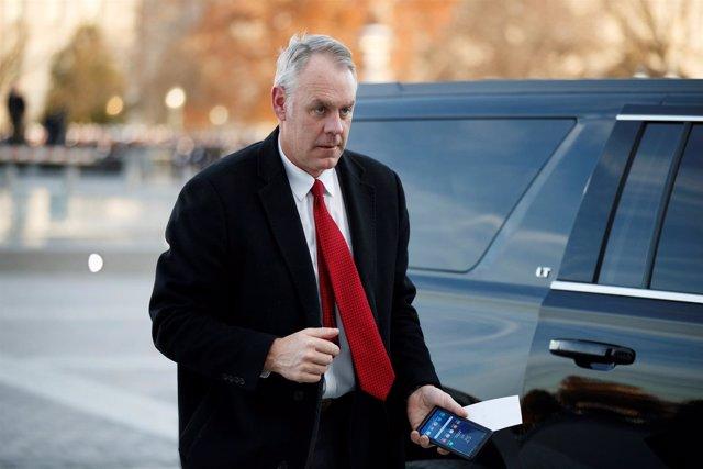 Ryan Zinke, secretario de Interior de EEUU