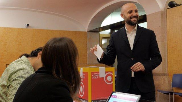 El candidato a las primarias, Jordi Graupera