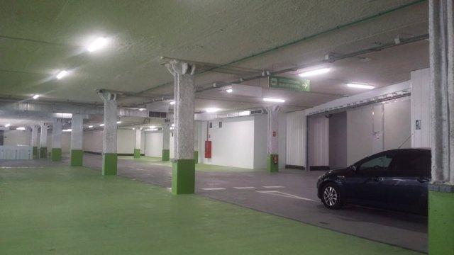 Imagen de la primera planta del parking de Ciudad de Brujas-Mercado Central