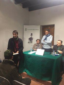 Discurso del Premio Memorial Blas Infante concedido a Javier Contreras