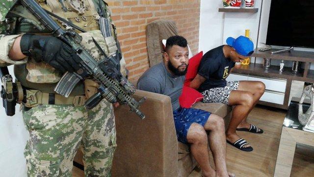 Carlos Enrique Sales Careoso, detenido en Paraguay