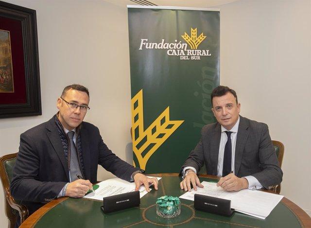 Directores de Fundación Caja Rural del Sur y Proyecto Hombre