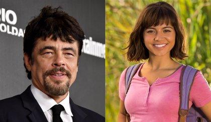 Benicio del Toro pondrá voz a Swiper en la película de Dora la Exploradora
