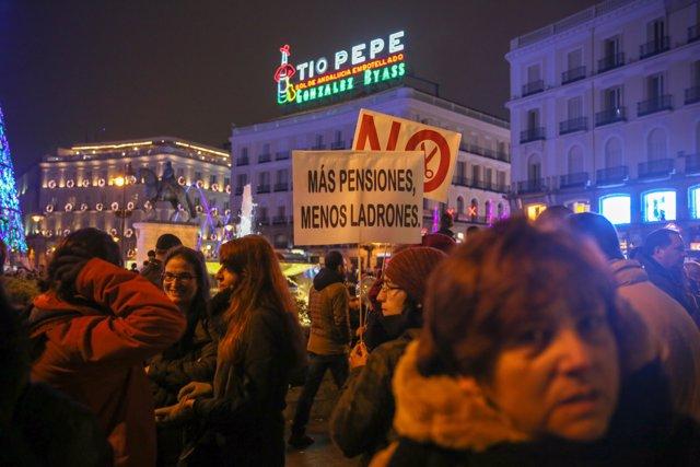 """Manifestación en Madrid en defensa de unas pensiones """"dignas"""""""