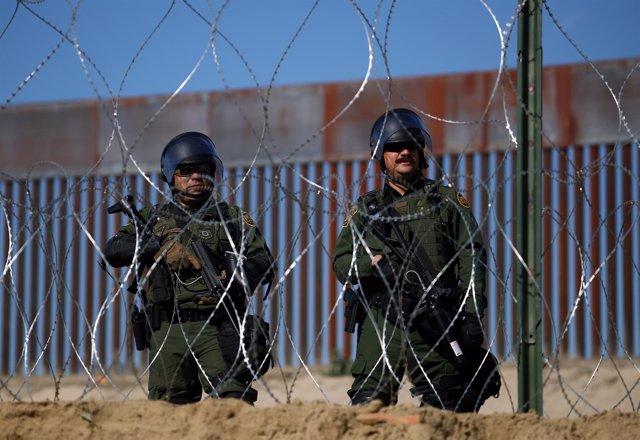Patrulla fronteriza de Estados Unidos en la frontera con México