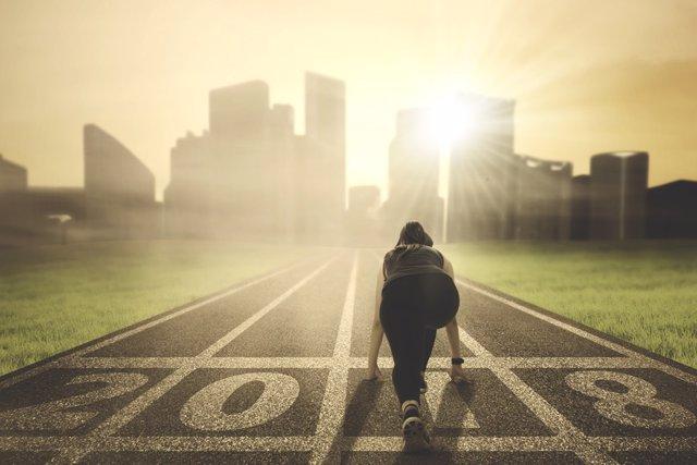 Correr, meta, objetivo
