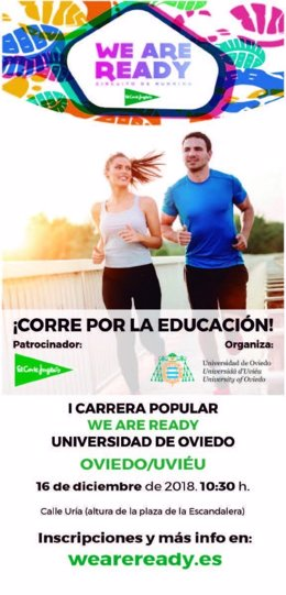 Cartel carrera 'we are ready'