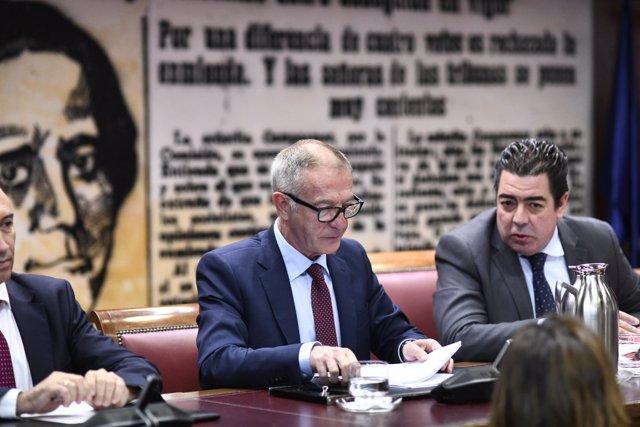 José Guirao en Comisión de Cultura y Deporte