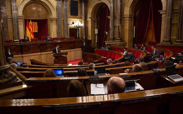 El Parlament inicia aquest dilluns una setmana amb tres plens per tancar el període de sessions