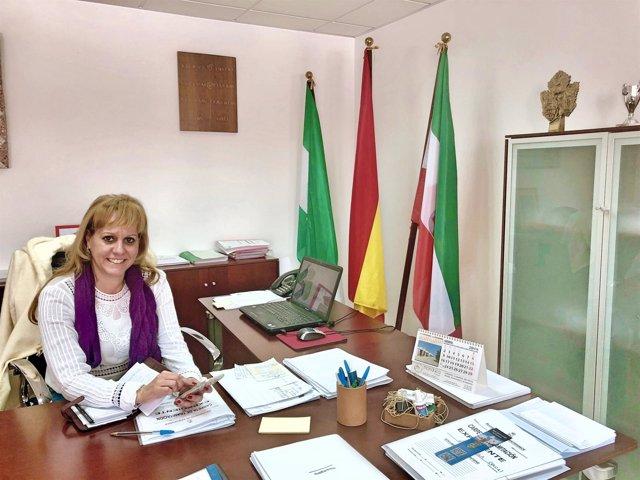 Alcaldesa de Santiponce, Carolina Casanova
