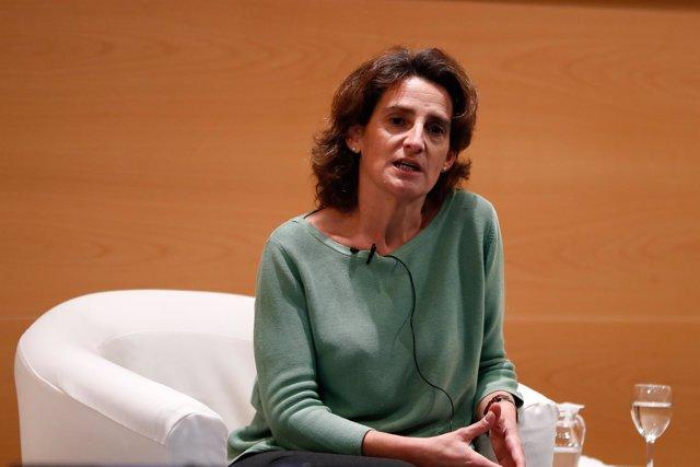 Teresa Ribera preside un acto sobre medio ambiente en el marco del 40 aniversari