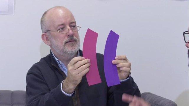 Joaquín Sevilla en un vídeo de 'Ciencia en el bar'