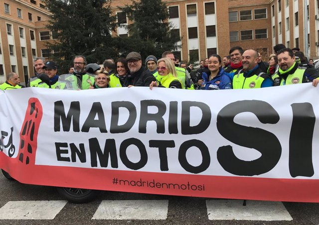 'Motos Sí', Manifestación A Favor De Las Motos