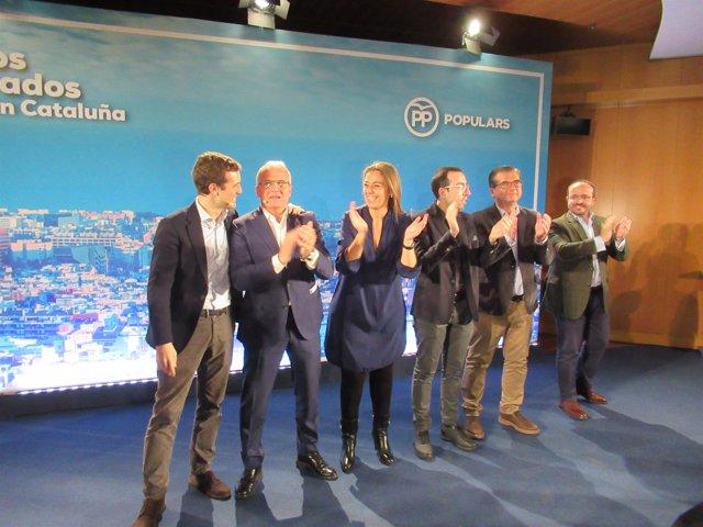 P. Casado, J. Bou, C. Veray, X. Palau, JL. Martín y A. Fernández