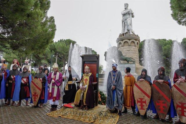 Acto del 900 aniversario de la conquista Zaragoza por Alfonso el Batallador