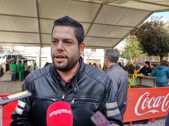 El concejal de Somos Oviedo Rubén Rosón