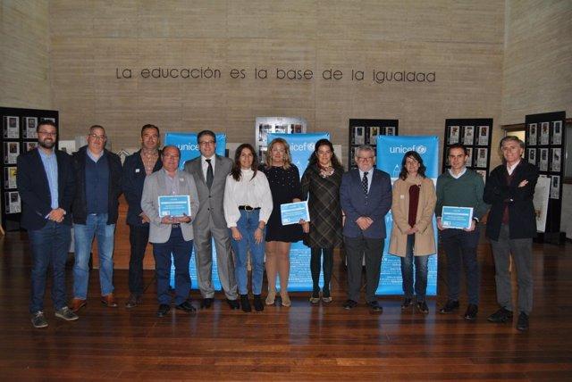 Reconocimientos UNICEF