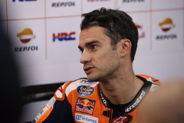 Dani Pedrosa (Repsol Honda), en el Gran Premio de Japón