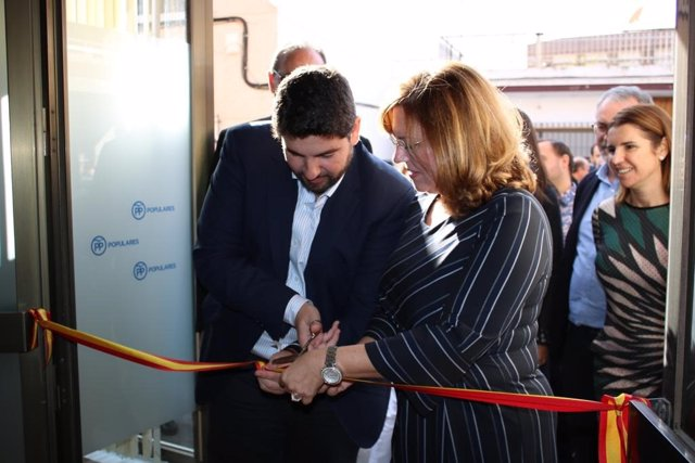 Inauguración de la sede del PP en San Pedro del Pinatar