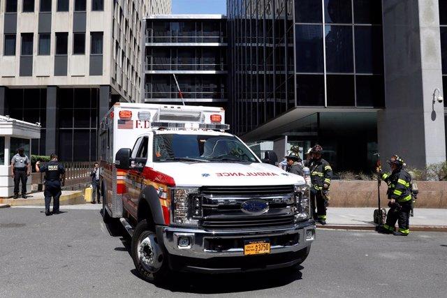 Ambulancia en Nueva York