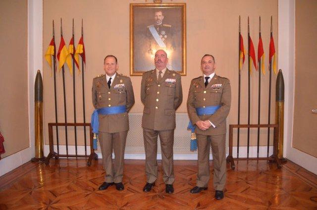Ignacio Aldama, nuevo coronel jefe del Estado Mayor en Melilla