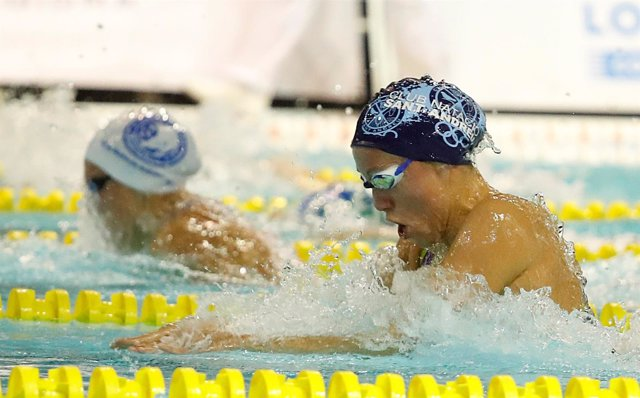 La nadadora española Jessica Vall, del CN Sant Andreu