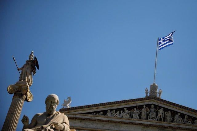 Foto de archivo de Atenas, Grecia.
