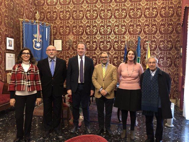 Reunión con el IEM de Palermo
