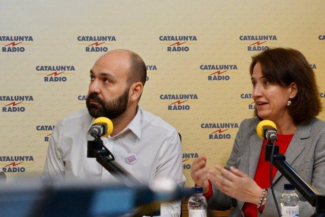 Marcel Mauri y Elisenda Paluzie