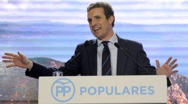 """Casado denuncia que Sánchez """"implori"""" una reunió bilateral a Torra en comptes de destituir-lo (M. Dylas/ EUROPA PRESS)"""