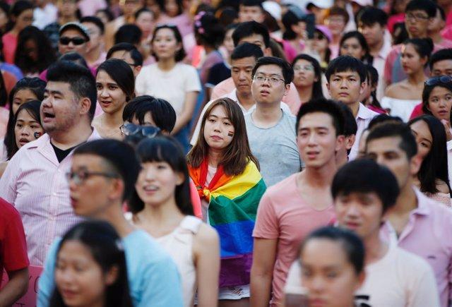Marcha del orgullo gay en Singapur