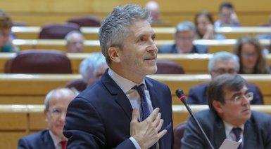 Marlaska no espera greus aldarulls durant el Consell de Ministres del 21D i confia en el dispositiu liderat pels Mossos (Ricardo Rubio - Europa Press)