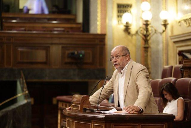 El diputado de Ciudadanos en el Congreso, Franciso Igea