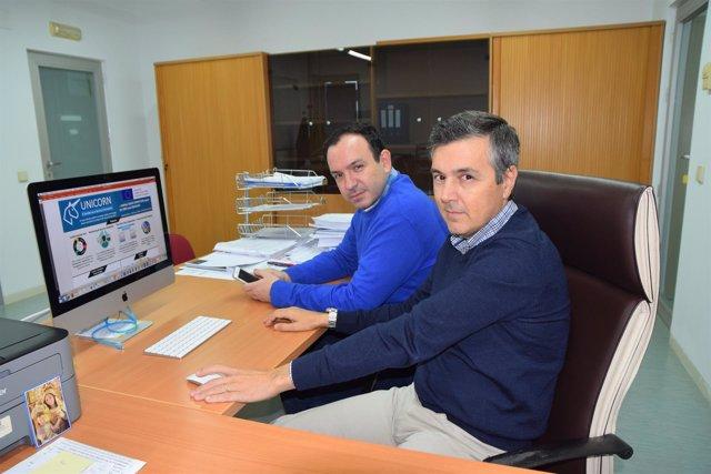 Investigadores del grupo de División de Sistemas de Ingeniería Electrónica
