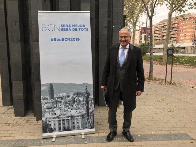 El candidato del PP a la Alcaldía de Barcelona, Josep Bou (Archivo)
