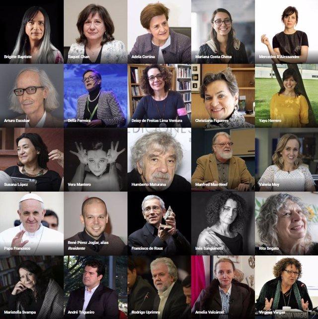 Los Intelectuales más influyentes de Iberoamérica