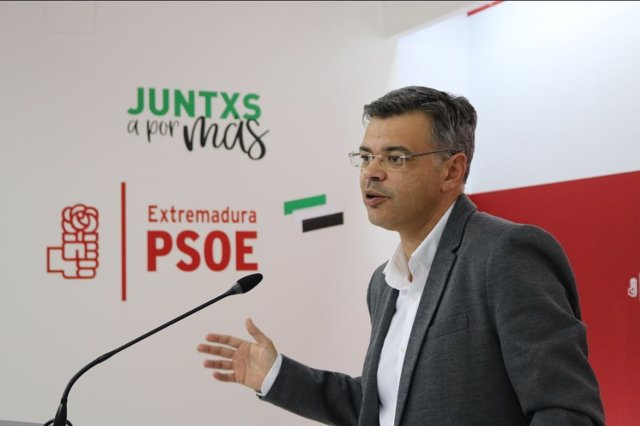 Portavoz PSOE de Extremadura, Juan Antonio González